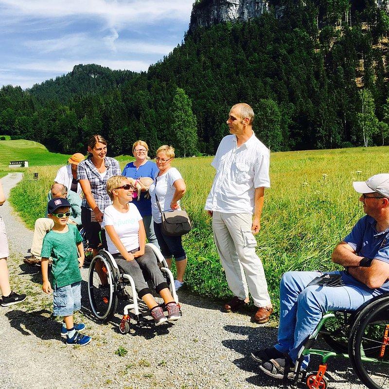 Ausflug von AssistenznehmerInnen und AssistentInnen in der Natur