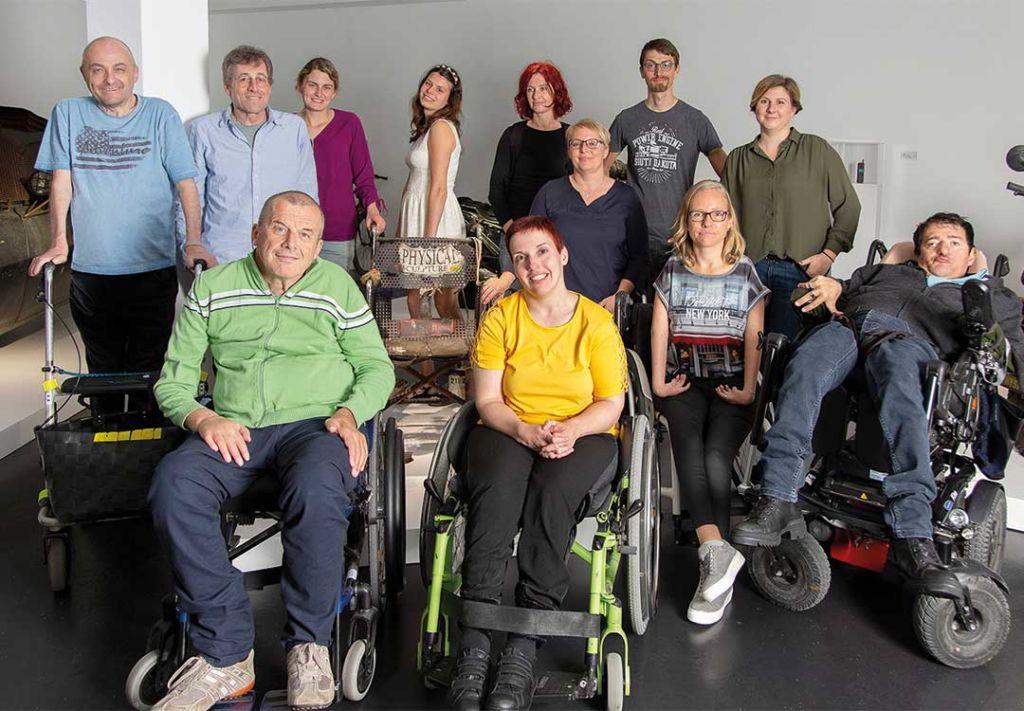 Team der Servicestelle Persönliche Assistenz Vorarlberg