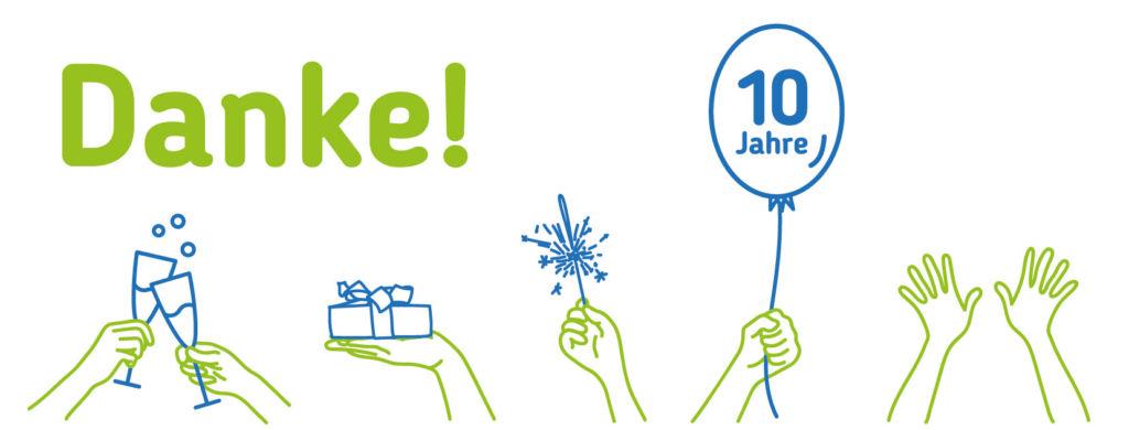 Danke 10 Jahre Persönliche Assistenz Vorarlberg